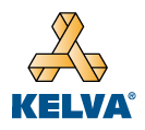 Kelva logo, anti-static equipment