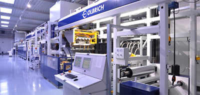 Olbrich coating, laminating machine