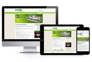 Matik's Newly Designed Website