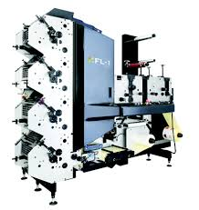 FL-1 compact flexographic printing press