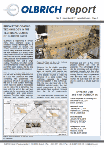 Olbrich Report Coating Technology