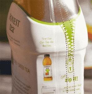 honest tea shrinkable film packaging