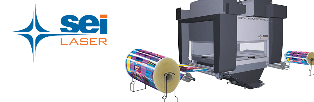 Laser systems cutting, scoring and macro- and micro-perforation of labels, films, papers and cartons.