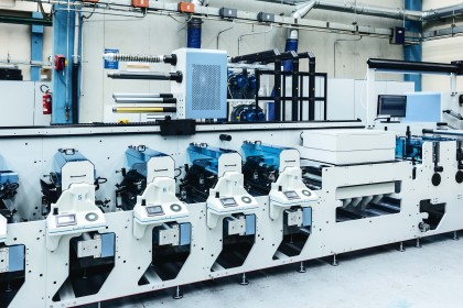 Syncroline flexo press