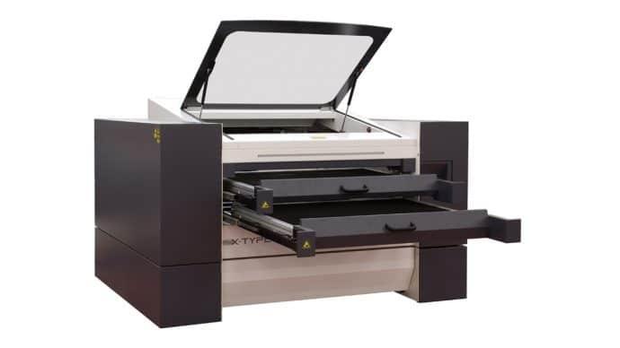 Medium Format Plotter Laser System, SEI Laser X-Type
